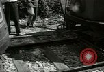 Image of American trolley cars Vienna Austria, 1949, second 44 stock footage video 65675020788