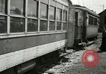 Image of American trolley cars Vienna Austria, 1949, second 46 stock footage video 65675020788