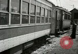 Image of American trolley cars Vienna Austria, 1949, second 47 stock footage video 65675020788