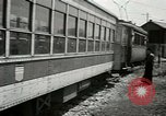 Image of American trolley cars Vienna Austria, 1949, second 49 stock footage video 65675020788