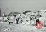 Image of brick cleaning Berlin Germany, 1955, second 24 stock footage video 65675020796