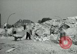 Image of brick cleaning Berlin Germany, 1955, second 27 stock footage video 65675020796