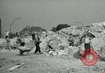 Image of brick cleaning Berlin Germany, 1955, second 28 stock footage video 65675020796