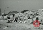 Image of brick cleaning Berlin Germany, 1955, second 29 stock footage video 65675020796