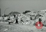 Image of brick cleaning Berlin Germany, 1955, second 30 stock footage video 65675020796