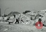 Image of brick cleaning Berlin Germany, 1955, second 32 stock footage video 65675020796