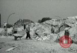 Image of brick cleaning Berlin Germany, 1955, second 33 stock footage video 65675020796