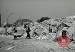 Image of brick cleaning Berlin Germany, 1955, second 35 stock footage video 65675020796