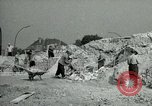 Image of brick cleaning Berlin Germany, 1955, second 37 stock footage video 65675020796