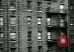 Image of housing Bronx New York City USA, 1965, second 12 stock footage video 65675020820