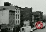 Image of housing Bronx New York City USA, 1965, second 36 stock footage video 65675020820