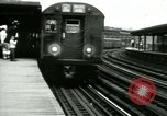 Image of Market street Bronx New York City USA, 1965, second 30 stock footage video 65675020821
