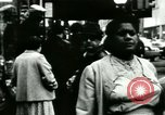 Image of Market street Bronx New York City USA, 1965, second 54 stock footage video 65675020821