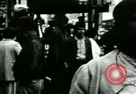 Image of Market street Bronx New York City USA, 1965, second 55 stock footage video 65675020821
