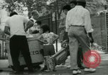 Image of Puerto Rican immigrants go to church and play baseball Bronx New York City USA, 1965, second 59 stock footage video 65675020826