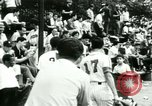 Image of Puerto Rican immigrants go to church and play baseball Bronx New York City USA, 1965, second 61 stock footage video 65675020826