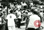 Image of Puerto Rican immigrants go to church and play baseball Bronx New York City USA, 1965, second 62 stock footage video 65675020826
