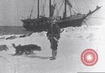 Image of whaler Herman Arctic, 1915, second 37 stock footage video 65675020828