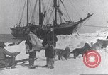 Image of whaler Herman Arctic, 1915, second 43 stock footage video 65675020828