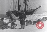 Image of whaler Herman Arctic, 1915, second 44 stock footage video 65675020828
