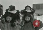 Image of Gambell village Saint Lawrence Island Alaska USA, 1915, second 30 stock footage video 65675020843