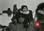 Image of Gambell village Saint Lawrence Island Alaska USA, 1915, second 34 stock footage video 65675020843