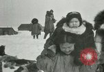 Image of Gambell village Saint Lawrence Island Alaska USA, 1915, second 35 stock footage video 65675020843