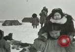 Image of Gambell village Saint Lawrence Island Alaska USA, 1915, second 36 stock footage video 65675020843