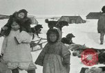 Image of Gambell village Saint Lawrence Island Alaska USA, 1915, second 40 stock footage video 65675020843