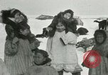 Image of Gambell village Saint Lawrence Island Alaska USA, 1915, second 44 stock footage video 65675020843