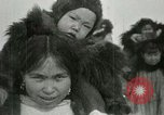 Image of Gambell village Saint Lawrence Island Alaska USA, 1915, second 55 stock footage video 65675020843