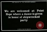 Image of Native dance Point Hope Alaska USA, 1915, second 12 stock footage video 65675020850