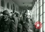 Image of French Foreign Legionnaires Washington DC USA, 1937, second 29 stock footage video 65675020878