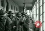 Image of French Foreign Legionnaires Washington DC USA, 1937, second 33 stock footage video 65675020878
