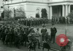 Image of French Foreign Legionnaires Washington DC USA, 1937, second 41 stock footage video 65675020878
