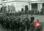 Image of French Foreign Legionnaires Washington DC USA, 1937, second 43 stock footage video 65675020878