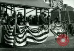 Image of President Woodrow Wilson Fort Myer Virginia USA, 1917, second 60 stock footage video 65675020879