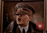 Image of Hitler portrait Cherbourg Normandy France, 1944, second 4 stock footage video 65675020905