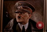 Image of Hitler portrait Cherbourg Normandy France, 1944, second 9 stock footage video 65675020905