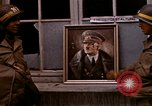 Image of Hitler portrait Cherbourg Normandy France, 1944, second 16 stock footage video 65675020905