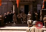 Image of flag presentation ceremony Cherbourg Normandy France, 1944, second 3 stock footage video 65675020906