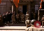 Image of flag presentation ceremony Cherbourg Normandy France, 1944, second 4 stock footage video 65675020906