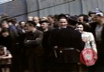 Image of flag presentation ceremony Cherbourg Normandy France, 1944, second 25 stock footage video 65675020906