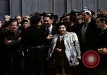 Image of flag presentation ceremony Cherbourg Normandy France, 1944, second 27 stock footage video 65675020906
