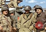 Image of flag presentation ceremony Cherbourg Normandy France, 1944, second 31 stock footage video 65675020906
