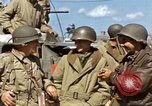 Image of flag presentation ceremony Cherbourg Normandy France, 1944, second 33 stock footage video 65675020906