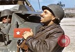 Image of flag presentation ceremony Cherbourg Normandy France, 1944, second 41 stock footage video 65675020906