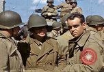 Image of flag presentation ceremony Cherbourg Normandy France, 1944, second 48 stock footage video 65675020906