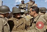Image of flag presentation ceremony Cherbourg Normandy France, 1944, second 50 stock footage video 65675020906
