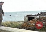 Image of Destroyed German fortifications Granville France, 1944, second 1 stock footage video 65675020909